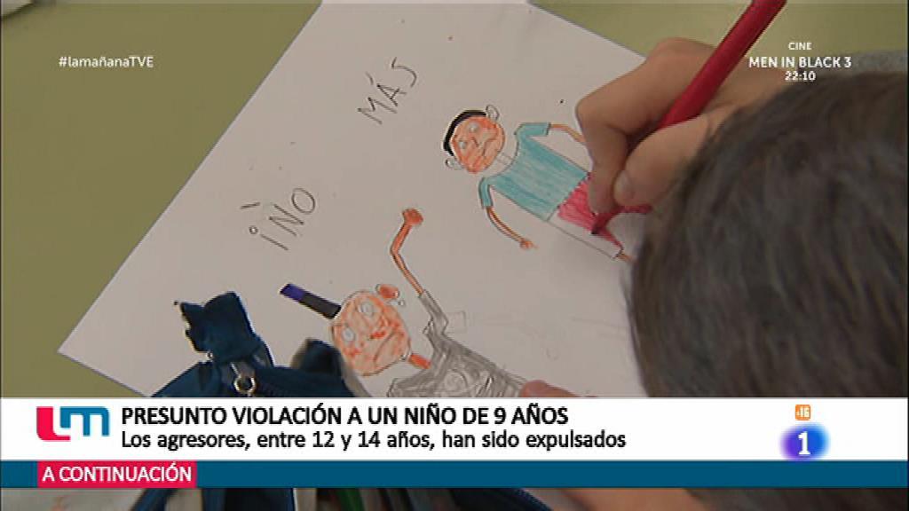 Presunta violación a un menor de 9 años
