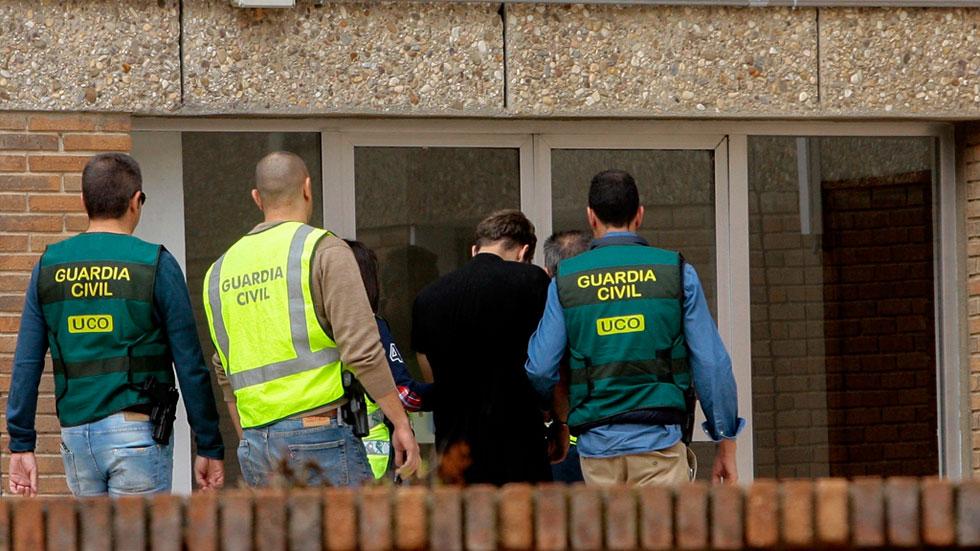 El presunto asesino de la familia de Pioz reconoce los hechos ante la Guardia Civil