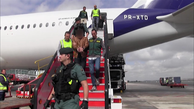 El presunto asesino de Pioz se entrega para ser juzgado en España