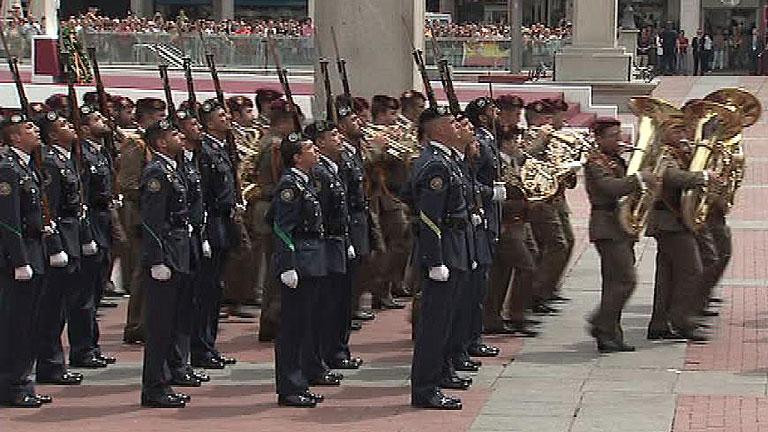 El presupuesto destinado al Día de las Fuerzas Armadas cae más del 97% desde 2008