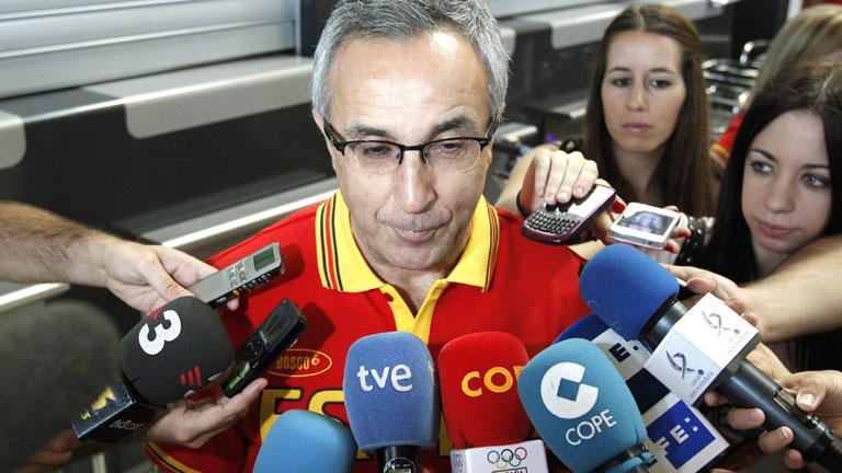 La primera expedición de deportistas españoles ya está en Londres
