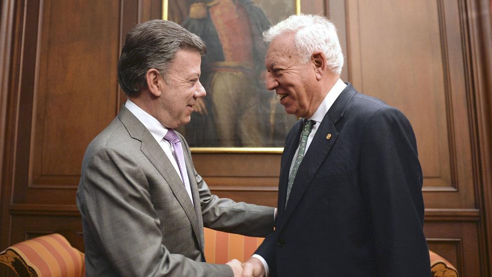 Primera visita oficial a Colombia del ministro de Asuntos Exteriores