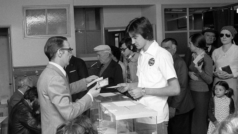 Las primeras elecciones en 40 años