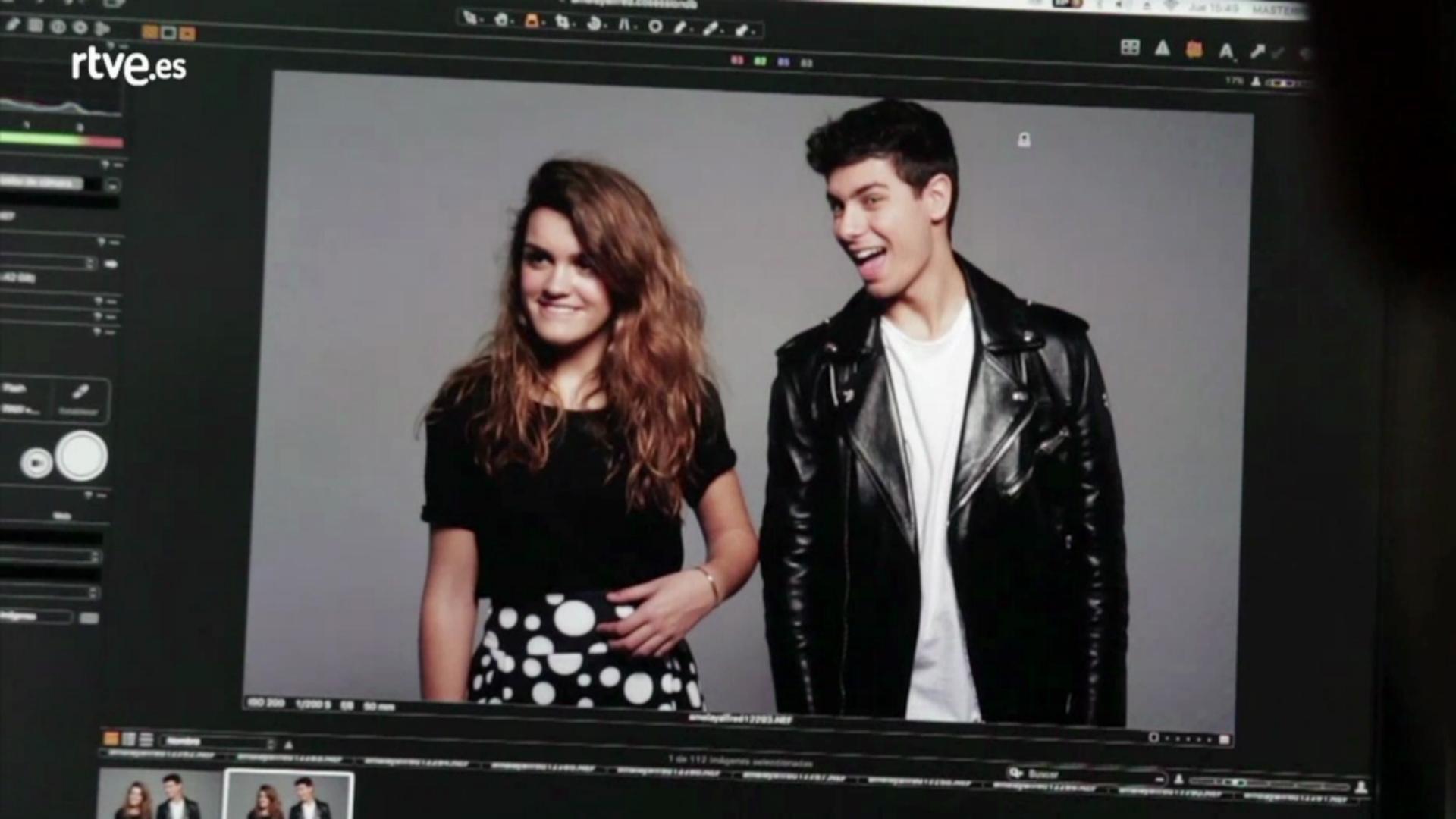 Primeras imágenes oficiales de Alfred y Amaia para Eurovisión 2018