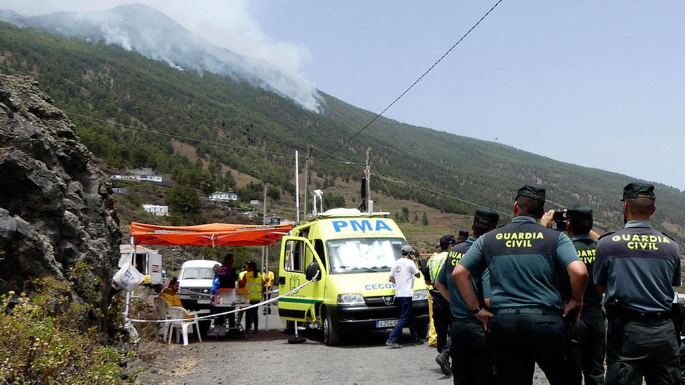 Prisión comunicada y sin fianza para el joven alemán acusado de originar el incendio de La Palma