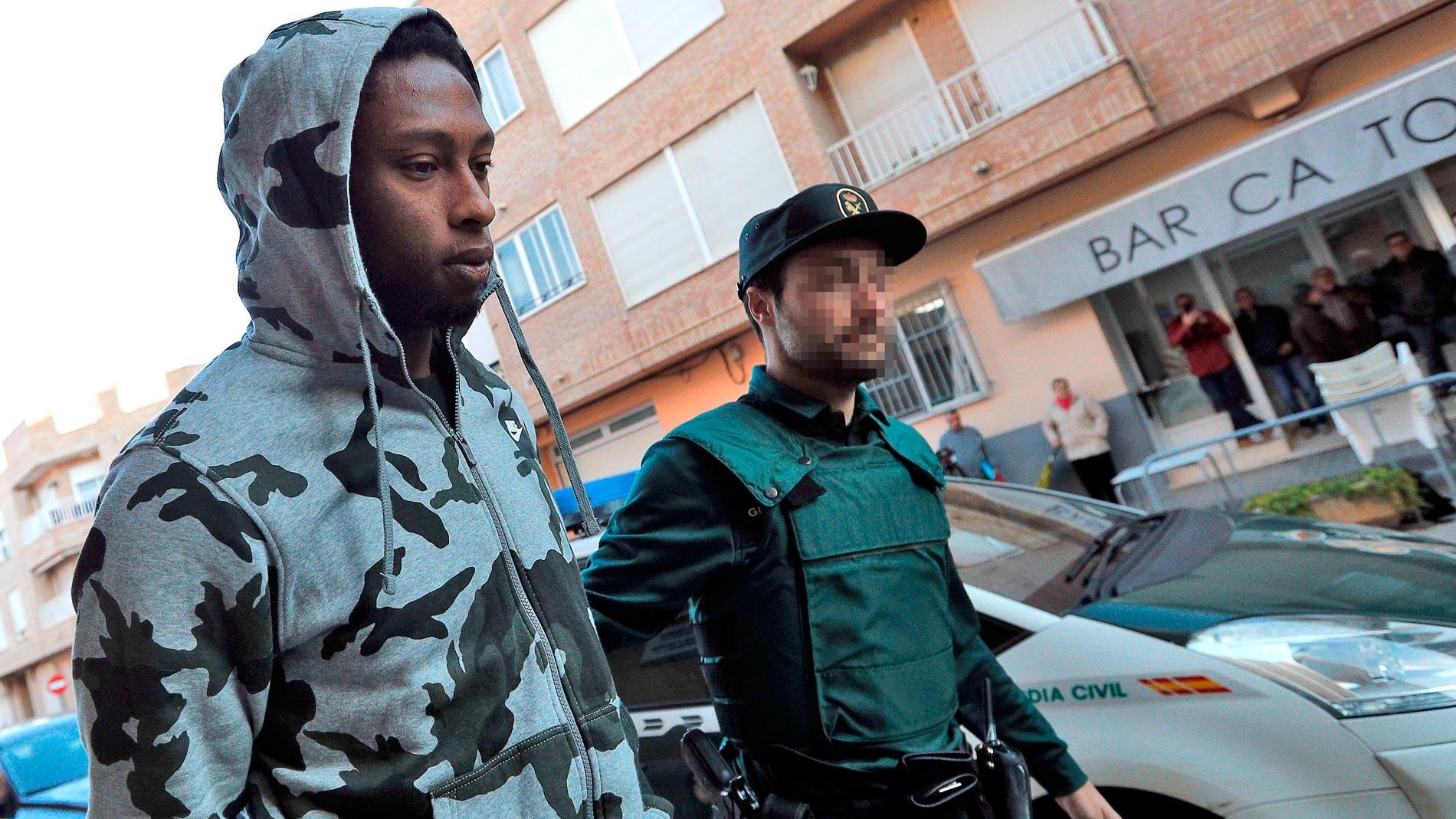 Prisión preventiva para Semedo por un presunto delito de homicidio en grado de tentativa