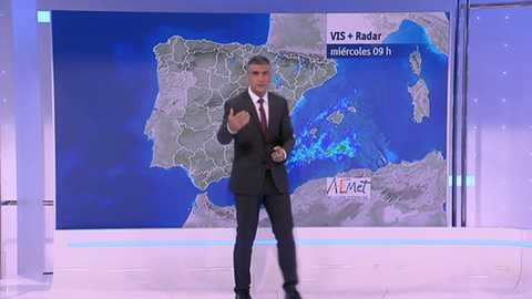 Probables chubascos o tormentas fuertes de madrugada en el nordeste de Baleares