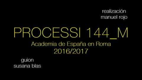 Metrópolis - PROCESSI 144_M (Academia de España en Roma 2016-2017)