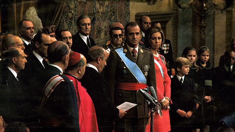 Proclamación del Rey Juan Carlos I
