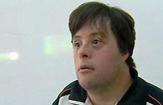 Un profesor con síndrome de Down