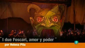 Programa de mano - Plácido Domingo protagoniza en Valencia la ópera 'I due Foscari', de Verdi