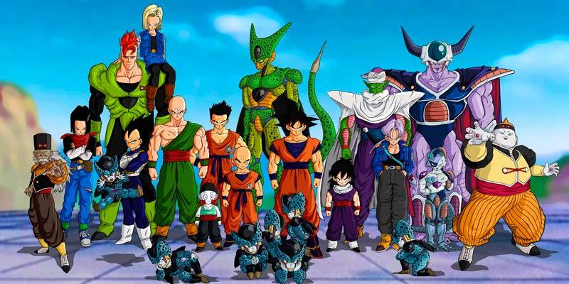 Los protagonistas de 'Dragon Ball'