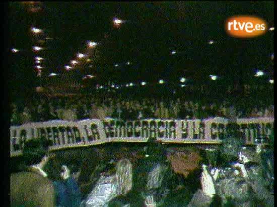 El pueblo con la democracia el 24-F de 1981