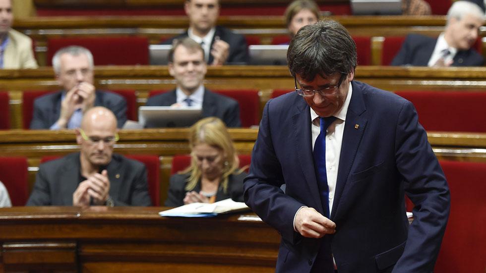Puigdemont convocará elecciones si no supera la cuestión de confianza en septiembre