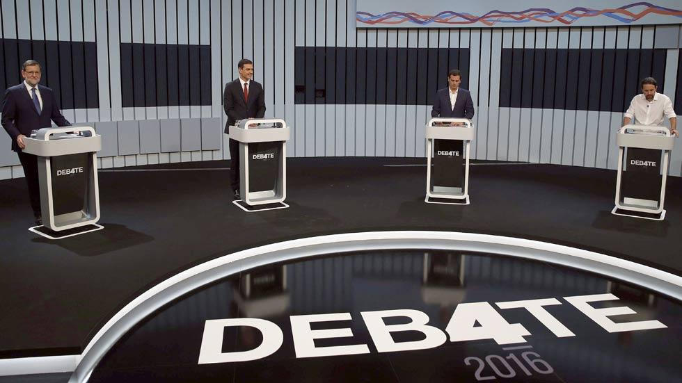 Las pullas por la corrupción y los rifirrafes entre Sánchez e Iglesias marcan un debate con poca intensidad