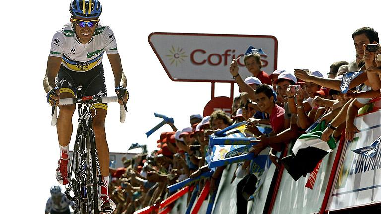 'Purito' araña tiempo a Contador