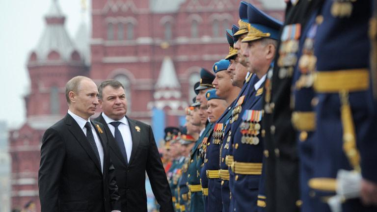 Putin aprovecha la celebración del Día de la Victoria para pedir el respeto a la soberanía
