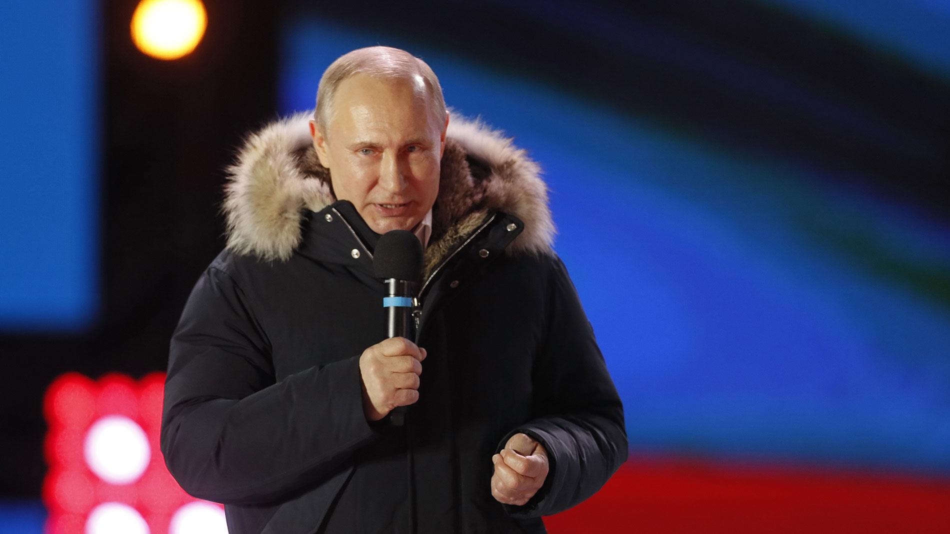 Putin logra la reelección como presidente de Rusia con su victoria más holgada en 18 años