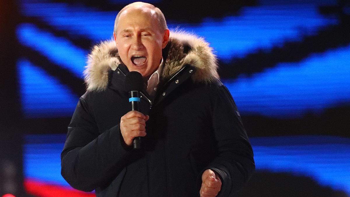 Putin es reelegido para un cuarto mandato con más del 76% de los votos