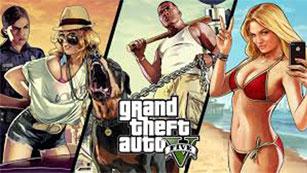 La quinta entrega de Grand Theft Auto se inspira en California y tiene tres protagonistas