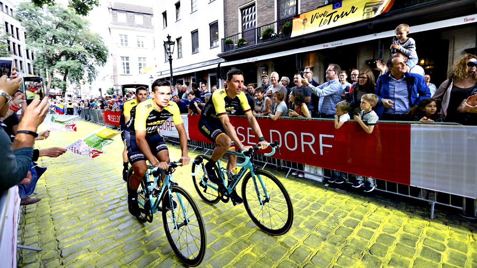 Quintana, Porte, Bardet y  Contador desafían el trono de Froome en el Tour