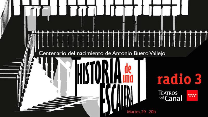 Radio 3 rinde homenaje al dramaturgo Antonio Buero Vallejo por el centenario de su nacimiento con la obra 'Historia de una escalera'