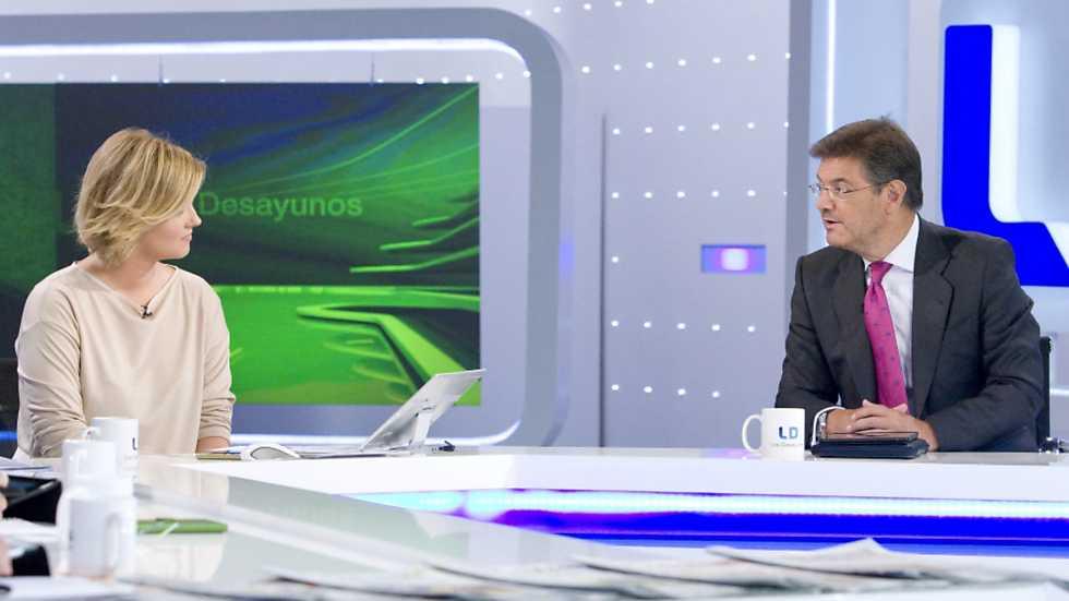 Los desayunos de TVE - Rafael Catalá, ministro de Justicia en funciones