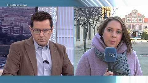 Los desayunos de TVE - Rafael Mayoral, Secretario de Sociedad civil y Movimiento popular de Podemos