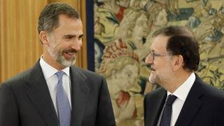 """Rajoy acepta el encargo del rey para una legislatura basada en el """"diálogo"""" y que no prevé corta"""