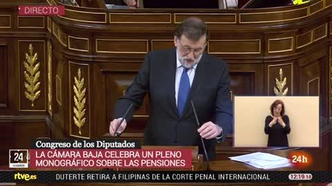"""Rajoy afirma que le parece """"razonable"""" subir las pensiones más bajas en línea con el IPC"""