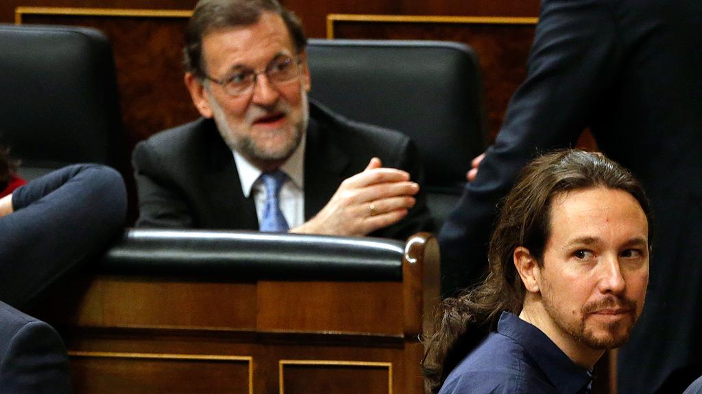 Rajoy afronta este martes la moción de censura presentada por Podemos