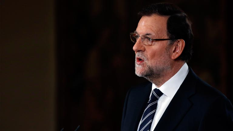 Rajoy anuncia que el rey Don Juan Carlos abdica