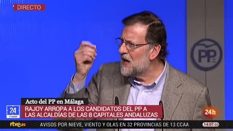 """Rajoy apuesta por perseverar en su política económica para subir las pensiones: """"Subirán lo que podamos"""""""