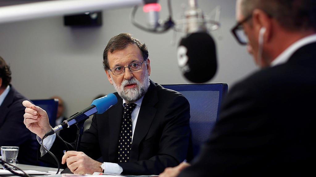 Rajoy asegura que un 50% de los perfiles falsos que difundieron información de Cataluña procedian de Rusia