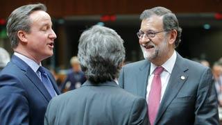 """Rajoy le dice a Cameron que """"lo más probable"""" es la repetición de elecciones"""