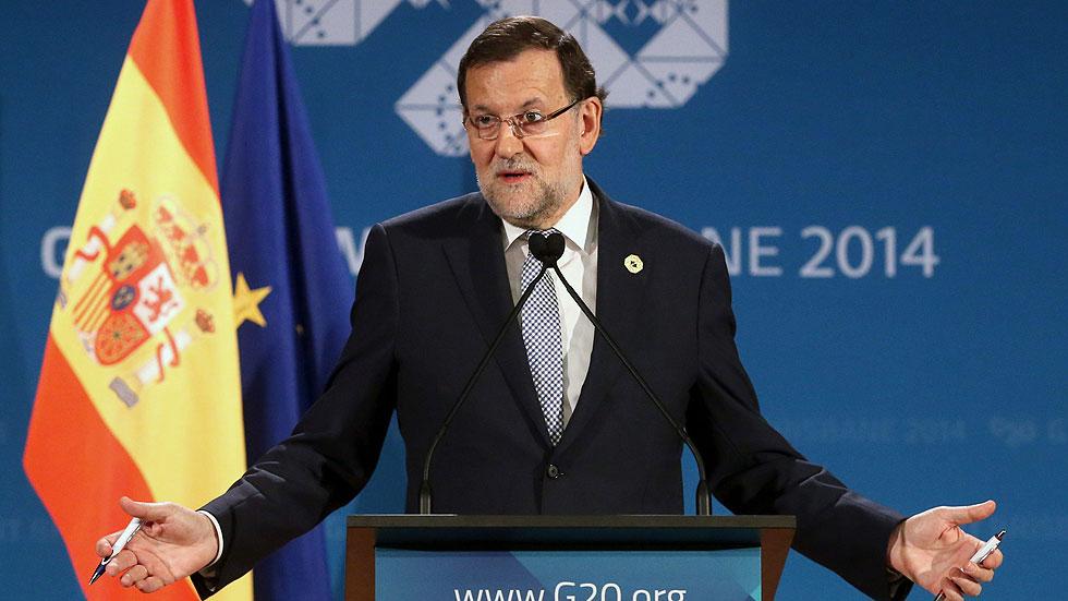 """Rajoy: el G20 considera ya a España """"un ejemplo de superación"""""""