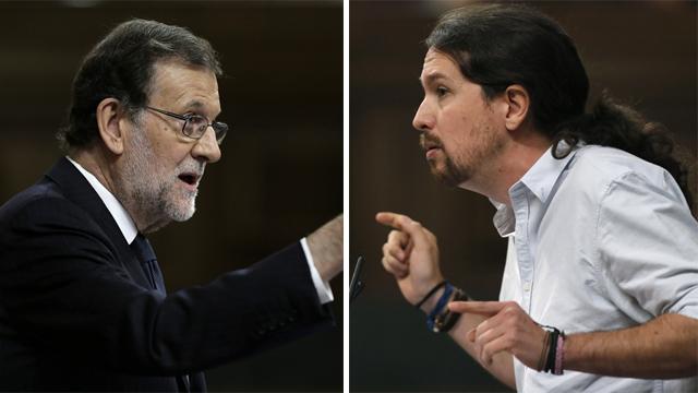 """Rajoy a Iglesias: """"En Twitter voy mejorando y con los SMS me manejé peor"""""""