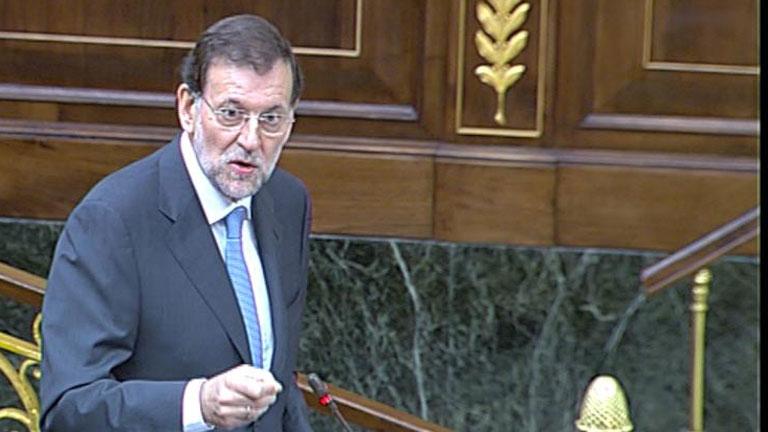 """Rajoy insiste en que ha optado por lo """"difícil"""": Tenía que elegir entre """"el mal o el mal peor"""""""