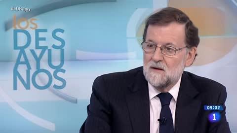 "Rajoy pide un candidato alternativo a Puigdemont por ""sentido común"""