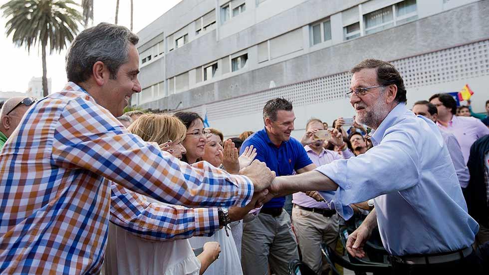 Rajoy pide el voto para que en España no se instale un modelo como el de Venezuela