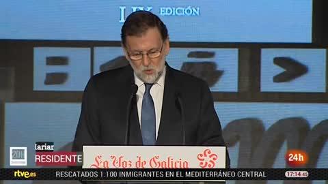 """Rajoy pone en valor la aplicación del artículo 155: """"La democracia española ha sabido defenderse"""""""