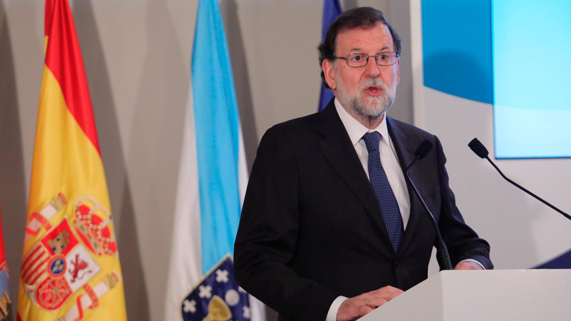 """Rajoy reclama a Torra """"un gobierno viable, que cumpla la ley"""" y """"capaz de dialogar en serio"""""""