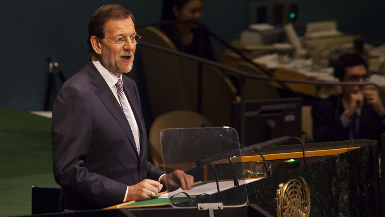 Rajoy repasa las bondades de España ante la Asamblea de la ONU