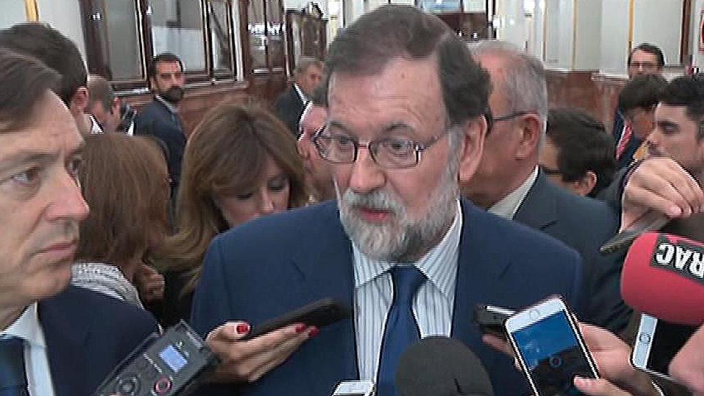 """Rajoy, sobre la operación de la Guardia Civil en Cataluña: """"Ningún estado democrático acepta lo que están planteando estas personas"""""""