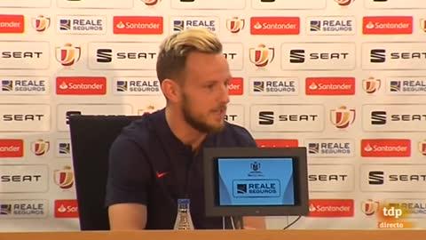 """Rakitic: """"El doblete no tendría más éxito si el Real Madrid no gana la Champions"""""""