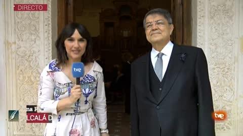 """Ramírez sobre el Premio Cervantes: """"Recibir este premio es la mayor honra literaria que he tenido en la vida"""""""