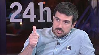 """Ramón Espinar (Podemos): """"La corrupción significa 70.000 enfermos en lista de espera en los hospitales de Madrid"""""""