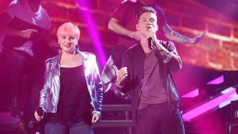 Operación Triunfo - Raoul y Marina cantan 'Dancing in the moonlight' en la Gala 4 de OT