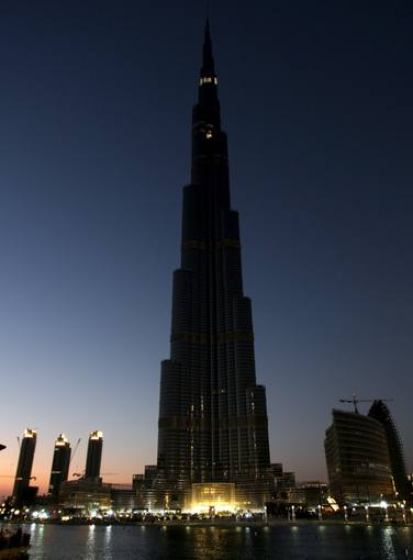 Burj Khalifa, el Burj Dubai