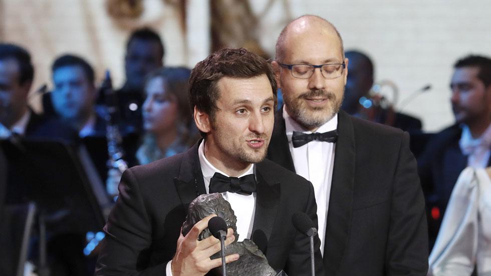 Raúl Arévalo y David Pulido, mejor guion original por 'Tarde para la ira' en los Premios Goya 2017